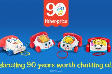 Fisher-Price wordt 90 jaar jong!