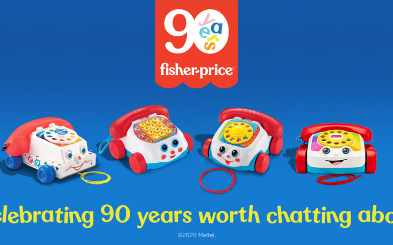 Fisher-Price wordt 90 jaar jong!